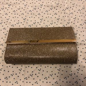 bareMinerals Magnetic Sparkly Gold Clutch